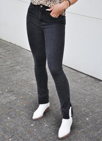 TESS V Jessie split jeans black