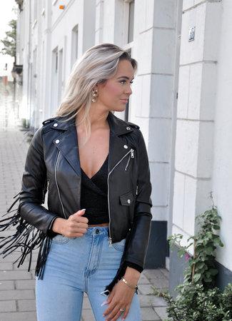 TESS V Pien leather jacket