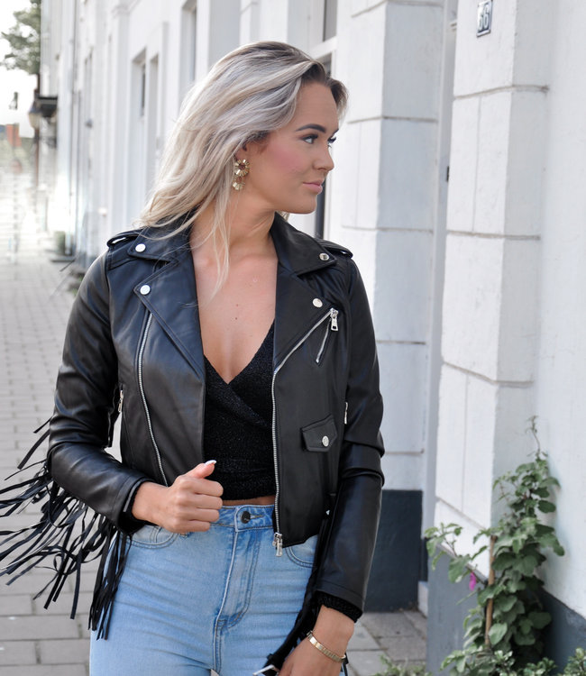 TESS V Pien leather jacket