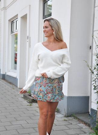 TESS V Saar sweater white