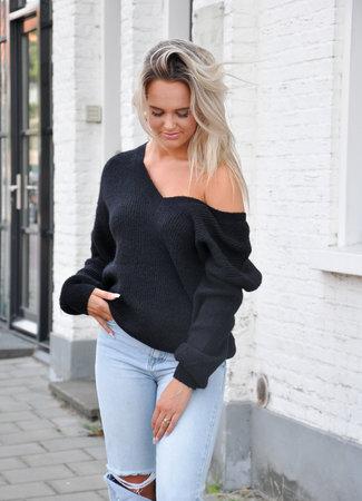 TESS V Saar sweater black