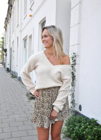 TESS V Saar sweater beige
