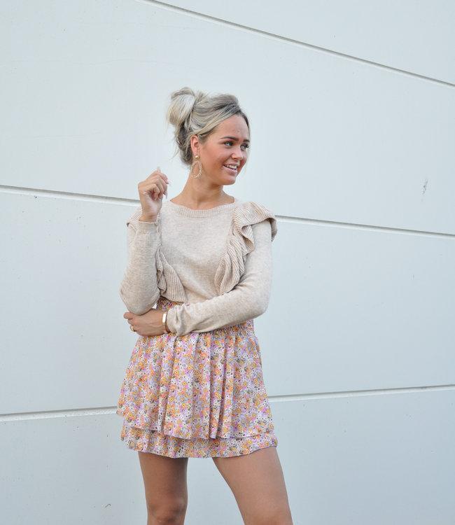 TESS V Lou sweater beige