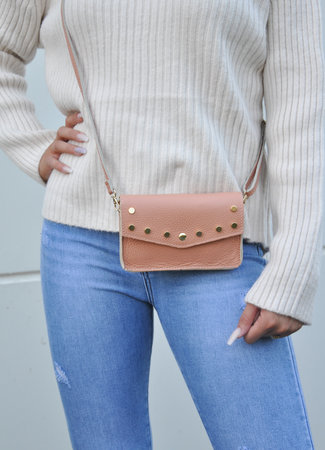 TESS V Laura bag peach