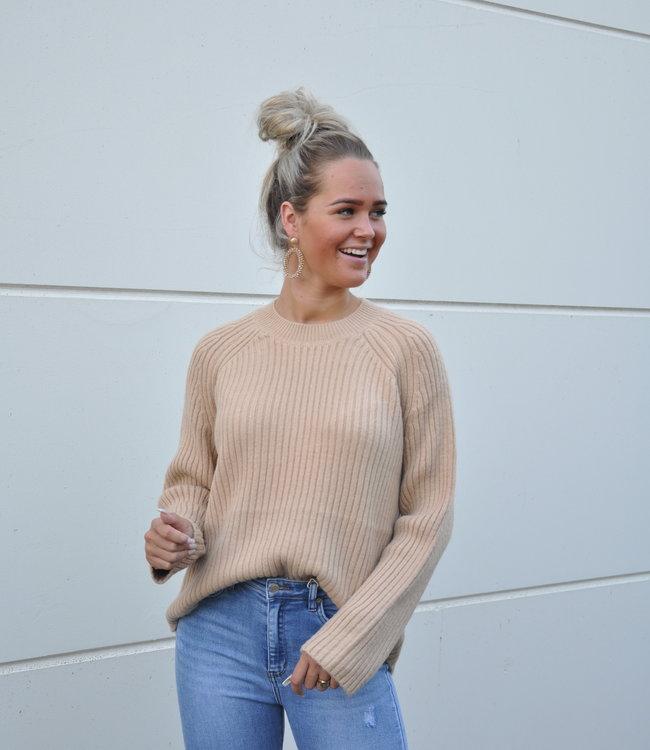 TESS V Chelsey sweater brown