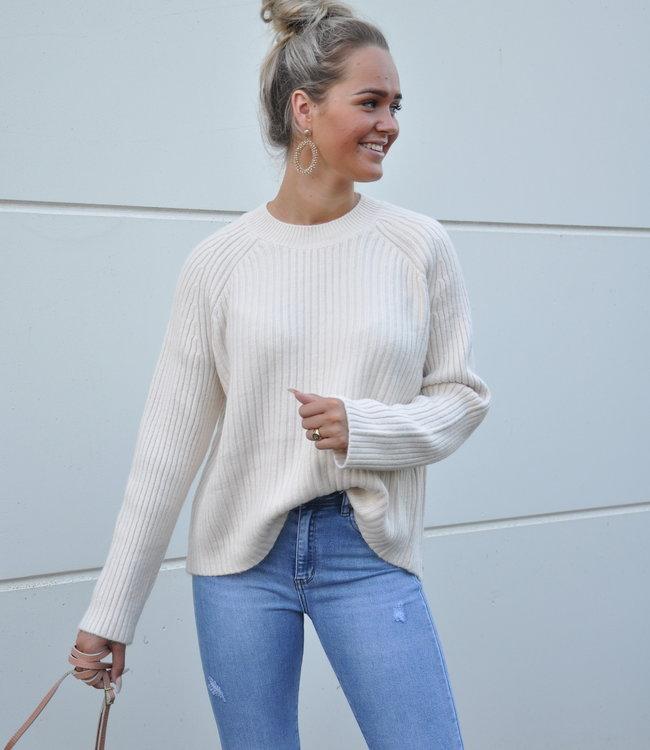 TESS V Chelsey sweater beige
