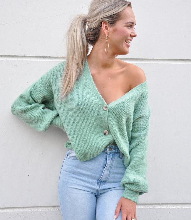 Nica vest green