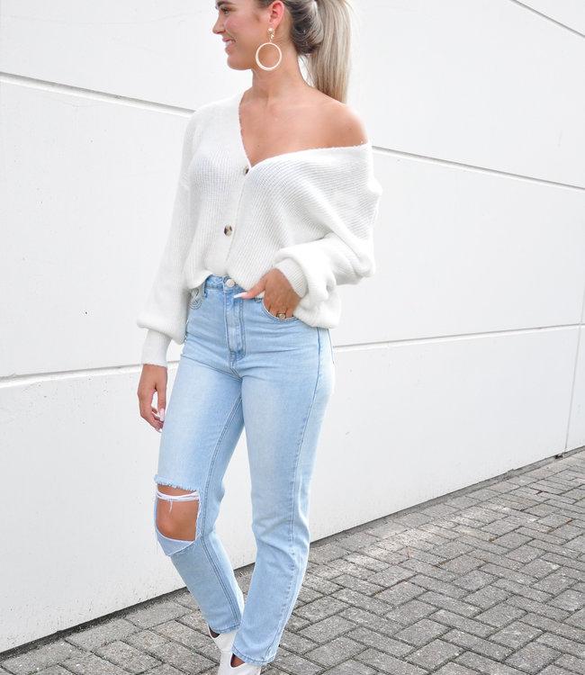 Nica vest white