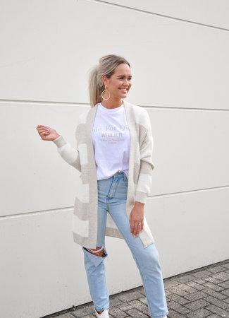 TESS V Esmay vest beige