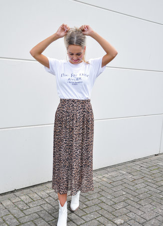 TESS V Cece maxi skirt leo