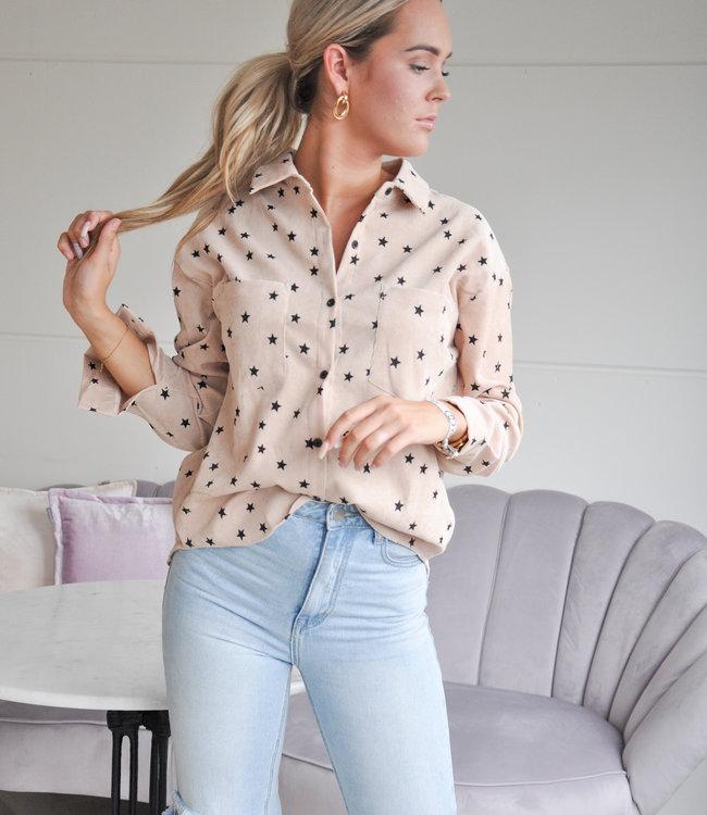 TESS V Loua blouse beige