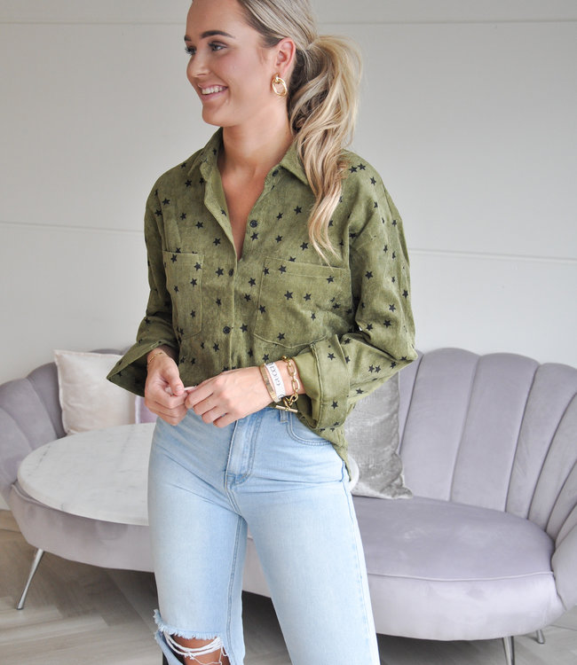 TESS V Loua blouse green