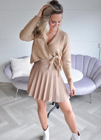 TESS V Maud skirt brown