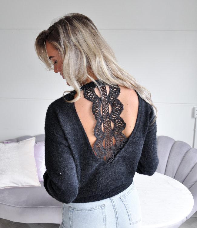 TESS V Lotte sweater black