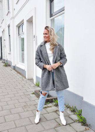 TESS V Jill coat grey