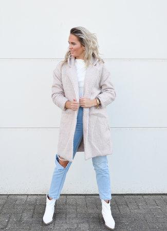 TESS V Jill coat beige