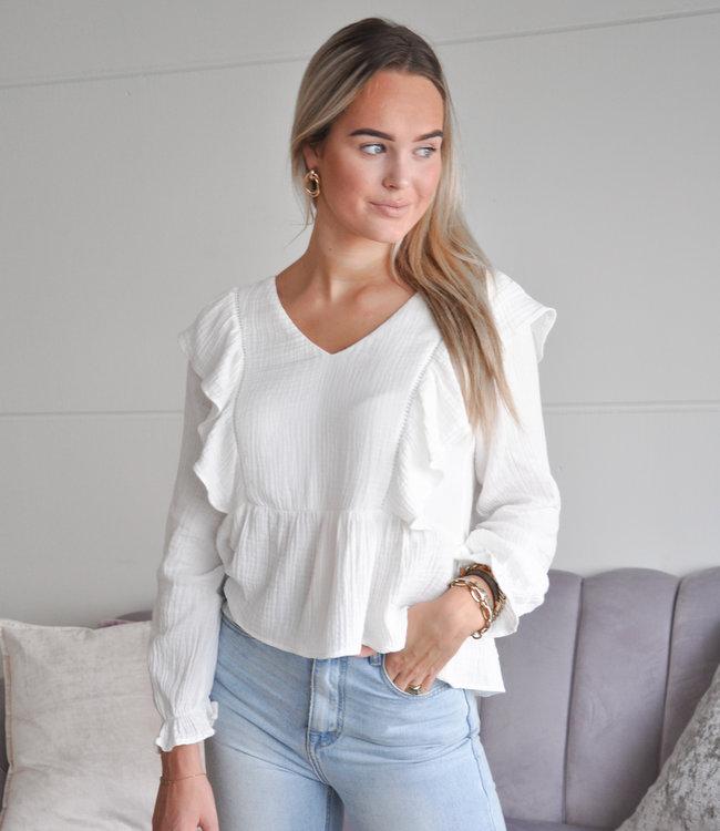 TESS V Isabel blouse white
