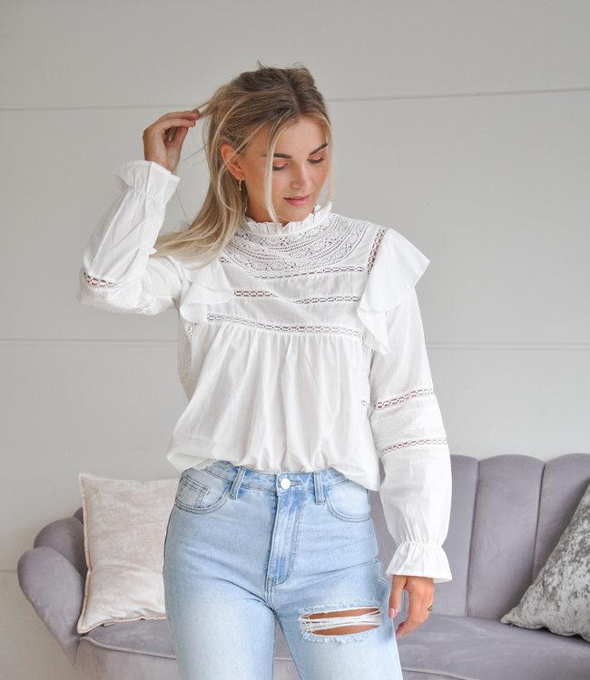 TESS V Jolijn blouse white