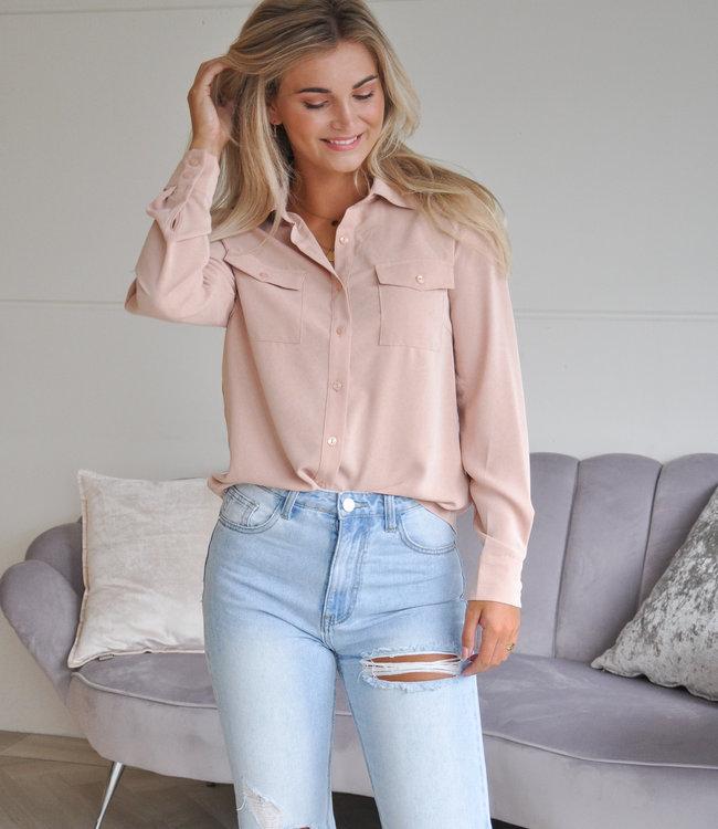 TESS V Jana blouse beige