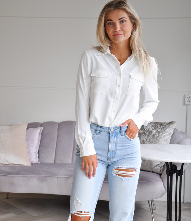 TESS V Jana blouse white