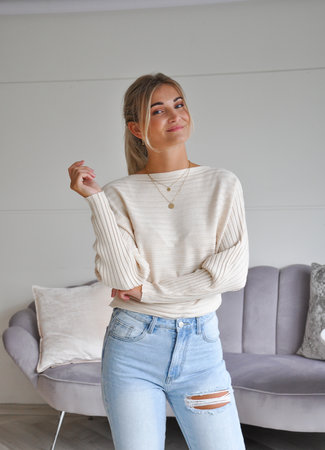 TESS V Gina sweater beige