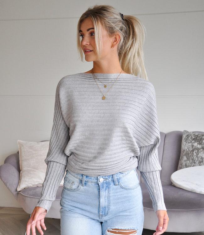 TESS V Gina sweater grey