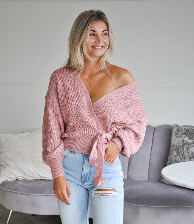 TESS V Faye wikkelvest pink