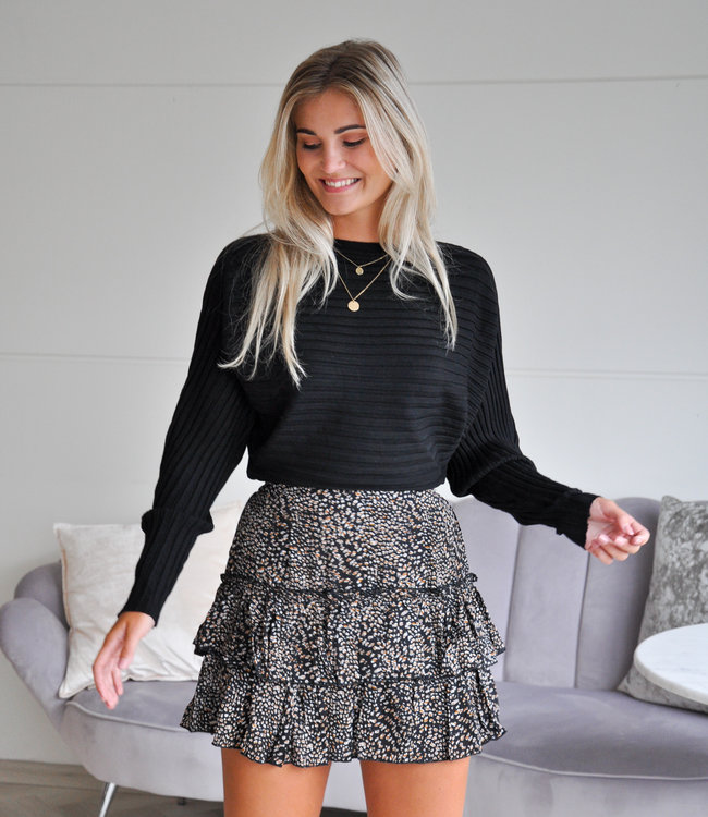 TESS V Gina sweater black