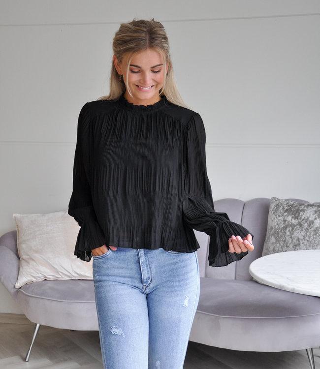 TESS V Nadia blouse black
