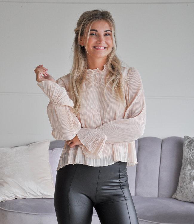 TESS V Nadia blouse beige