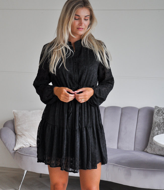 TESS V Jenna dress black