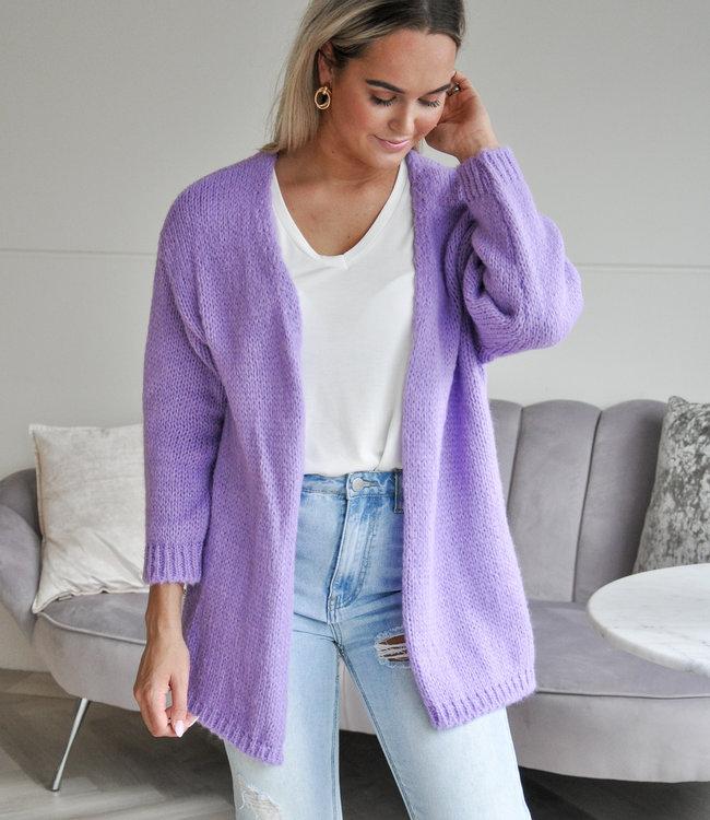 TESS V Lisa vest purple