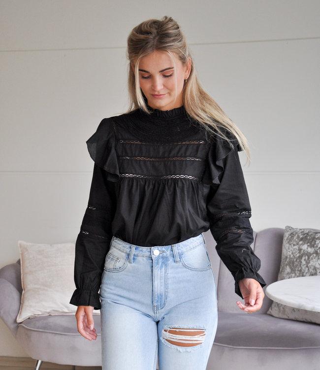 TESS V Jolijn blouse black