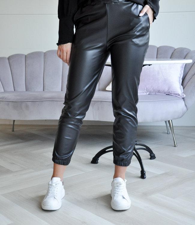 TESS V Manou leather pants