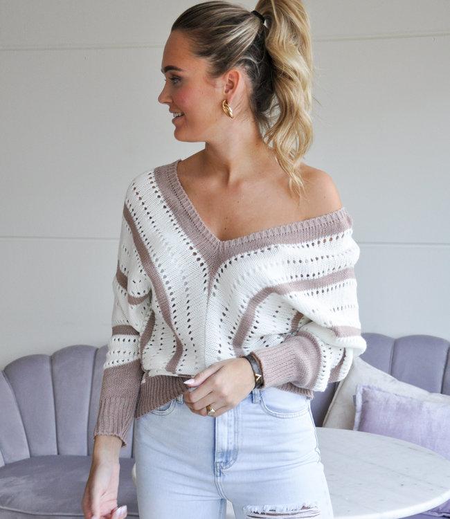 TESS V Maria sweater beige