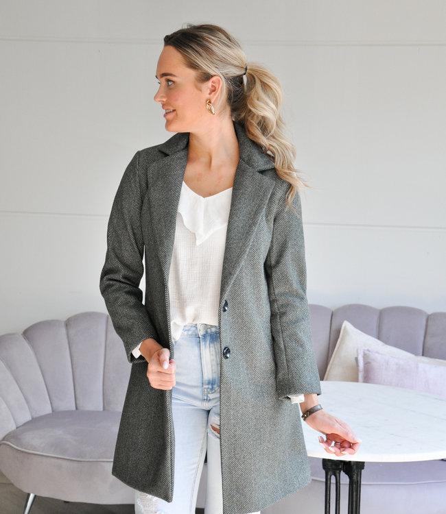 TESS V Marly coat grey