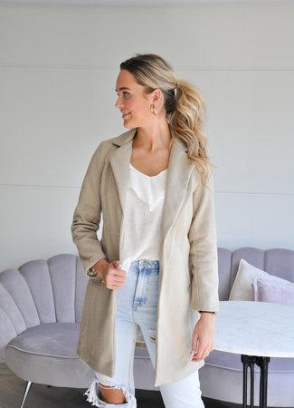 TESS V Marly coat beige