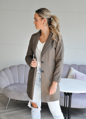 Marly coat brown