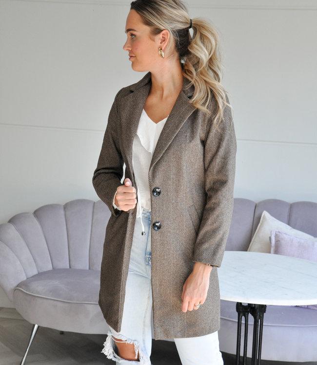 TESS V Marly coat brown