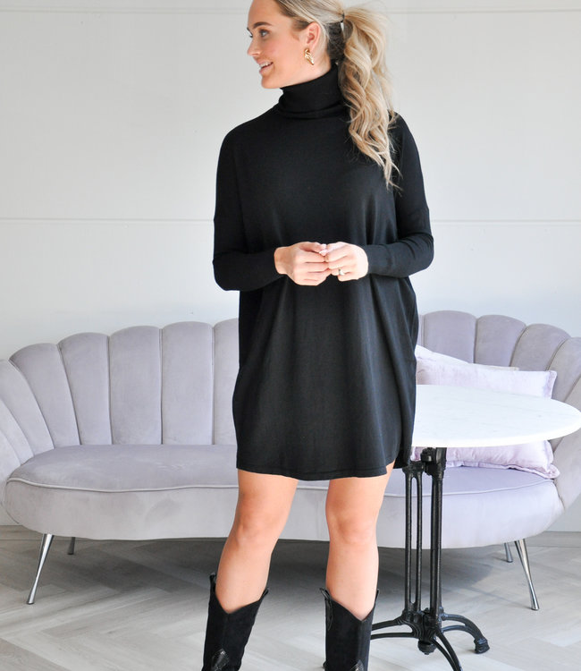 TESS V Sylvie Sweater dress black