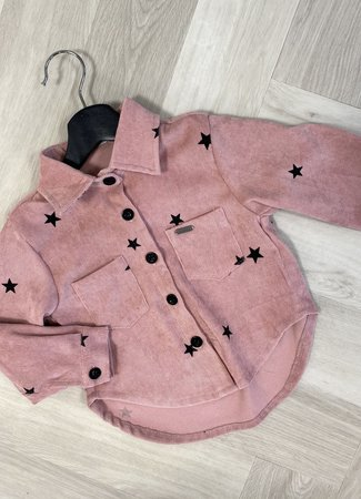 Luy stars blouse pink