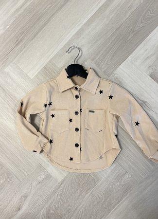 Luy stars blouse beige