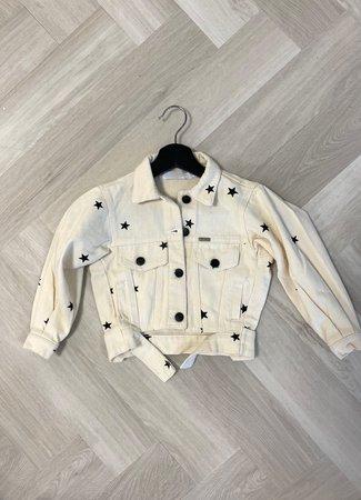 Pien jacket stars creme