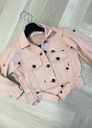 Pien jacket stars pink