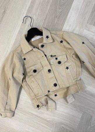 Pien jacket stars beige