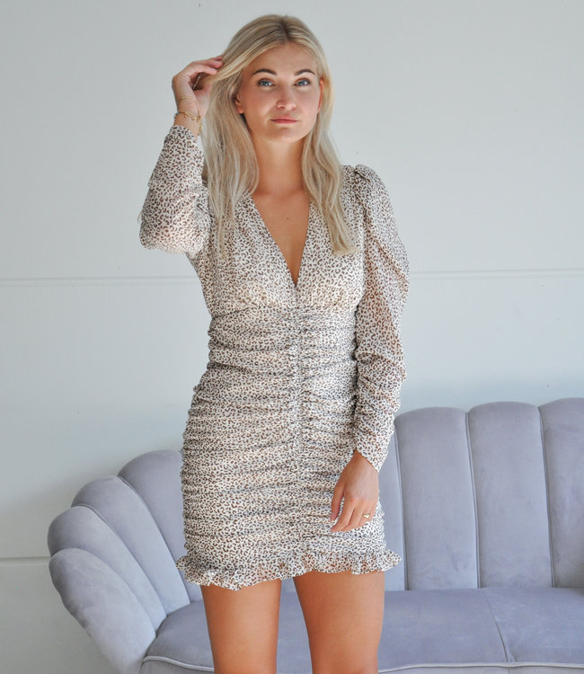 TESS V Robin dress beige