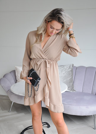 Zaza dress beige