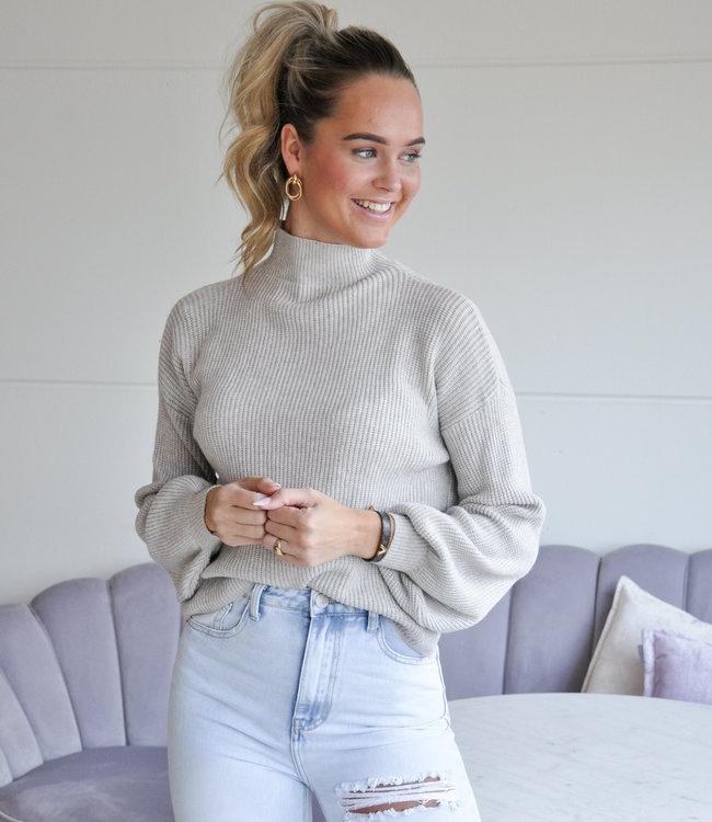 TESS V Sammy sweater off white