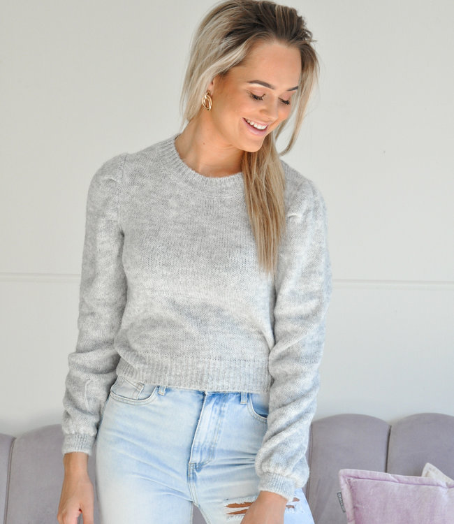 TESS V Mitzy sweater grey