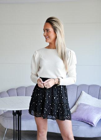 TESS V Zoe skirt black
